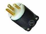 品牌:进口 Imports 名称:美式NEMA L5-20P大功率插头连接器 工业用20A 125V 型号:J-715