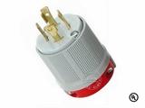 品牌:进口 Imports 名称:美式NEMA L15-30大功率插头连接器 工业用30A 250V 型号:WJ-8431
