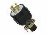 品牌:进口 Imports 名称:美式NEMA L15-30大功率插头连接器 工业用30A 250V 型号:WJ-8431R