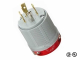 品牌:进口 Imports&#10名称:美式NEMA L14-30大功率插头连接器 工业用30A 125V/250V&#10型号:WJ-8430B