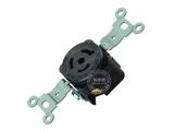 品牌:进口 Imports 名称:美式NEMA(L6-15R)大功率插座连接器 工业用15A 250V 型号:J-706