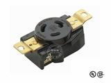 品牌:进口 Imports 名称:美式NEMA(L5-20R)大功率插座连接器 工业用20A 125V 型号:L5-20R