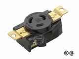 品牌:进口 Imports&#10名称:美式NEMA(L5-20)大功率插座连接器 工业用20A 125V&#10型号:WJ-6321B