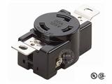 品牌:进口 Imports 名称:美式NEMA(L5-30)大功率插座连接器 工业用30A 125V 型号:WJ-6332B