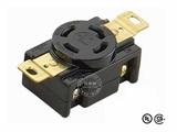 品牌:进口 Imports 名称:美式NEMA(L14-30)大功率插座连接器 工业用30A 125V/250V 型号:WJ-6432B