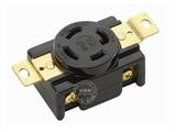 品牌:进口 Imports 名称:美式NEMA(L15-30)大功率插座连接器 工业用30A 250V 型号:WJ-6431B