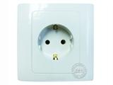 品牌:松瑞 Songrui&#10名称:一位欧标插座 86标准面板 德标&#10型号:SR6-1066