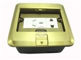 品牌:基讯 EXCEL 名称:隐藏式强电五孔铜地插 型号:GC-DT/YC/F3