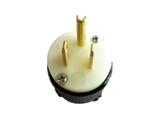 品牌:进口 Imports&#10名称:NEMA 5-15P 防松脱美↑式接线插头 单相三极15A/125V&#10型号:AS-CJ-710