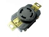 品牌:进口 Imports&#10名称:NEMA L14-30R 30A 4蕊 UL认证防脱落插座, 防松插座&#10型号:WJ-6430B