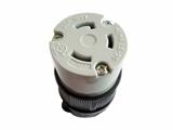 品牌:进口 Imports&#10名称:NEMA L5-30 Locking Connector, UL认证30A美国连接器&#10型号:WJ-9330B