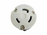 品牌:进口 Imports&#10名称:UL美规防脱落工业中间插座NEMA L6-30&#10型号:WJ-9331B