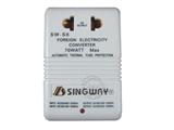 品牌:星威 Singway 名称:70W可逆变/互转交流电源变压器220V-110V或110V-220V 型号:SW-S6