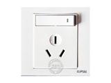 品牌:施耐德奇胜 Clipsal&#10名称:16A三孔空调带开关插座&#10型号:EV15-16-B