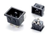 品牌:奥盛 Aosens&#10名称:卡接式IEC-C20插头模块&#10型号:AS-SS-3A-1