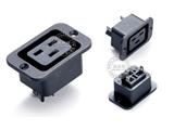 品牌:奥盛 Aosens 名称:固定式IEC-C19插座模块 型号:AS-SS-3B