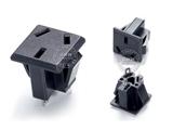 品牌:奥盛 Aosens&#10名称:国标3扁插座模块&#10型号:AS-SS-6D