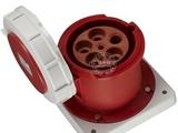 品牌:圣泰 shengtai 名称:暗装直式插座125A(5芯6h) IP67 型号:4856