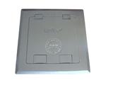 品牌:瑞博 Ruibo&#10名称:开启式国标三扁+两极双用地面插座&#10型号:RDC-146-a