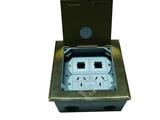 品牌:瑞博 Ruibo 名称:国标三扁两个地面插座 型号:RDC-146C