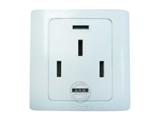 品牌:可来博 Clamber&#10名称:三相五线制转换插座 16A 380V 墙壁插座&#10型号:STQ-110-16