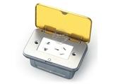 品牌:湖南梅兰日兰 meilanrilan 名称:开启式弱电+五孔电源插座 型号:LXDC-123T-2