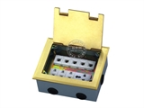 品牌:湖南梅兰日兰 meilanrilan&#10名称:强电和弱电组合地面插座&#10型号:LXDC-180K -1