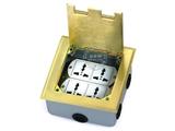 品牌:湖南梅兰日兰 meilanrilan&#10名称:可安装86面板带三位电脑插座&#10型号:LXDC-146K-6