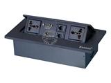 品牌:奥盛 Aosens&#10名称:锌合金弹起式桌面插座&#10型号:AS-ZH-601