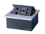 品牌:奥盛 Aosens 名称:锌合金弹起式桌面插座 型号:AS-ZH-605