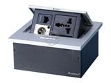 品牌:奥盛 Aosens&#10名称:锌合金弹起式桌面插座&#10型号:AS-ZH-607