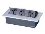 品牌:奥盛 Aosens 名称:锌合金弹起式桌面插座 型号:AS-ZH-609