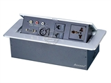 品牌:奥盛 Aosens&#10名称:锌合金弹起式桌面插座&#10型号:AS-ZH-603