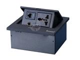 品牌:奥盛 Aosens 名称:锌合金弹起式桌面插座 型号:AS-ZH-606
