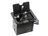 品牌:奥盛 Aosens&#10名称:开启抽线式桌面插座&#10型号:AS-ZJ6-440