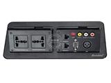 品牌:奥盛 Aosens&#10名称:气撑式弹起桌面插座&#10型号:AS-ZH-306