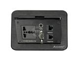 品牌:奥盛 Aosens 名称:气撑式弹起桌面插座 型号:AS-ZH-303