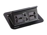 品牌:奥盛 Aosens&#10名称:气撑式弹起桌面插座&#10型号:AS-ZH-301