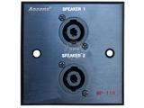 品牌:奥盛 Aosens&#10名称:多媒体面板&#10型号:AS-ZJ-WP118(黑色)