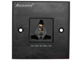 品牌:奥盛 Aosens 名称:多媒体面板 型号:AS-ZJ-WP102(黑色)