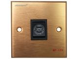 品牌:奥盛 Aosens&#10名称:多媒体面板&#10型号:AS-ZJ-WP123(铜)