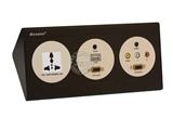品牌:奥盛 Aosens&#10名称:酒店多媒体面板桌面插座&#10型号:AS-ZJ-F103