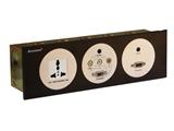 品牌:奥盛 Aosens 名称:酒店多媒体面板桌面插座 型号:AS-ZJ-FW103