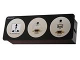 品牌:奥盛 Aosens 名称:酒店多媒体面板桌面插座 型号:AS-ZJ-FT103