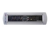 品牌:奥盛 Aosens 名称:电动翻转桌面插座 多媒体台面插座 型号:AS-ZH-002