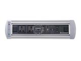 品牌:奥盛 Aosens 名称:电动翻转桌面插座 多媒体台面插座 型号:AS-ZH-004