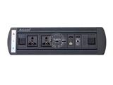 品牌:奥盛 Aosens&#10名称:电动翻转桌面插座 多媒体台面插座&#10型号:AS-ZH-006