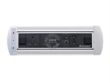 品牌:奥盛 Aosens 名称:电动翻转桌面插座 多媒体台面插座 型号:AS-ZH-009