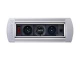 品牌:奥盛 Aosens&#10名称:手动翻转桌面插座 多媒体台面插座&#10型号:AS-ZH-402
