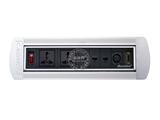 品牌:奥盛 Aosens&#10名称:手动翻转桌面插座 多媒体台面插座&#10型号:AS-ZH-403